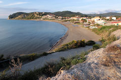 Aghios Stefanos beach, Corfu Royalty Free Stock Images