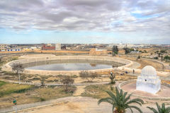 Aghlabid Basins in Kairouan Royalty Free Stock Photography