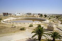 Aghlabid Basins in Kairouan. Ancient Aghlabid Basins in Kairouan Royalty Free Stock Photography