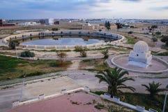 Aghlabid Bassins in Kairouan stockfotos