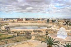 Aghlabid Bassins in Kairouan lizenzfreie stockfotografie