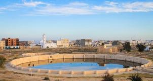 Aghlabids behållare, Kairouan, Tunisien Royaltyfri Foto