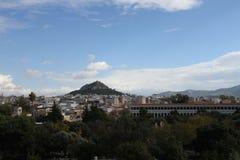 Aghora, Athene, Griekenland Stock Foto