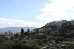 Aghora, Athene, Griekenland Royalty-vrije Stock Afbeeldingen