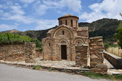 Agia佩拉贾教会  库存图片