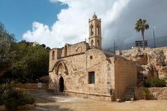 Agia纳帕修道院 免版税库存照片