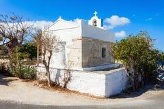 Agia Anna kościół, Parikia Zdjęcia Royalty Free