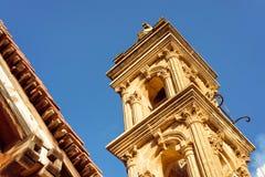 Agia Anna kościół przy Kaliana wioską w Troodos górach Nicosi Zdjęcia Stock