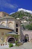 Agia Anna monasteru pensjonaty w górze Athos Fotografia Royalty Free