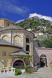 Agia Anna monastery guesthouses in Mount Athos Royalty Free Stock Photography