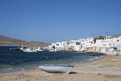 Agia Anna in Mykonos Royalty Free Stock Image