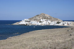 Agia Anna in Mykonos island, Cyclades, Greece Royalty Free Stock Image