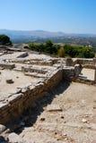 agia Crete galini Fotografia Royalty Free