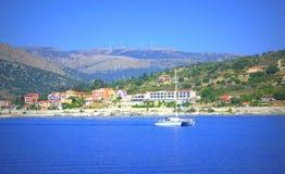 Agia Efimia, Kefalonia, Grecja Fotografia Royalty Free