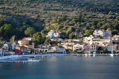 Agia Efimia port Stock Photos