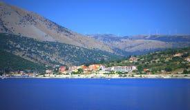 Agia Efimia schronienie, Grecja Zdjęcie Stock