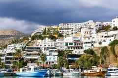 Agia Galini w Grecja Zdjęcie Royalty Free