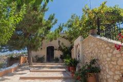 Agia Irini monaster, Grecja Zdjęcie Royalty Free