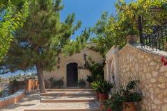 Agia Irini monaster, Grecja Obraz Royalty Free