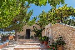 Agia Irini Monastery, Grèce Images libres de droits