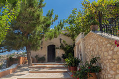 Agia Irini Monastery, Grèce Image libre de droits