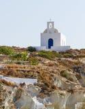 Agia kaplica Varvara, Kimolos wyspa, Grecja Zdjęcie Stock