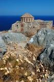 agia kościelny Greece monemvasia Sofia Zdjęcia Royalty Free