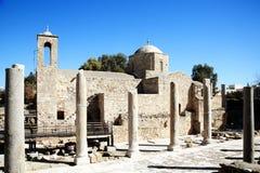 Agia Kyriaki church, Paphos, Cyprus Stock Photo