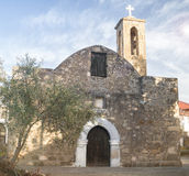 Agia Kyriaki. Traditional church of Cyprus in Polis Stock Image