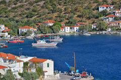 Agia Kyriaki village Royalty Free Stock Photography
