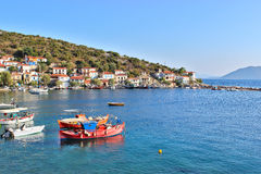 Agia Kyriaki village Stock Photos