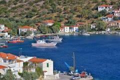 Agia Kyriaki wioska Fotografia Royalty Free