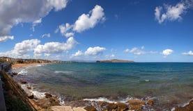 agia marina panorama Obraz Royalty Free