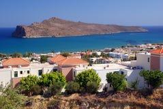 Agia Marina View Royalty Free Stock Image