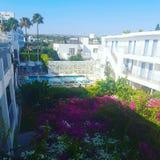 agia napa的旅馆 库存图片