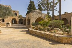 Agia Napa monaster Zdjęcie Royalty Free