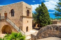 Agia Napa monaster, najbardziej znany punkt zwrotny Ayia Napa Cypr Fotografia Royalty Free