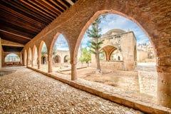 Agia Napa monasteru podwórze w Cypr 4 Obrazy Royalty Free