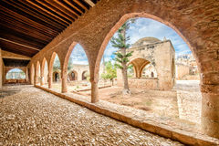 Agia Napa monastery courtyard in Cyprus 4 Royalty Free Stock Images