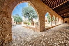 Agia Napa monastery courtyard in Cyprus 2 Royalty Free Stock Photo
