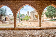 Agia Napa monastery courtyard in Cyprus 3 Stock Photo