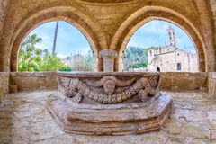 Agia Napa monastery fountain in Cyprus 5 Stock Photo