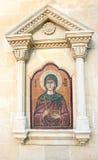 Agia Paraskevi icon on old Cyprus church Stock Images