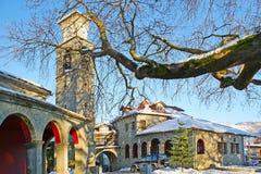 Agia Paraskevi kościół w Metsovo, Grecja Zdjęcie Royalty Free