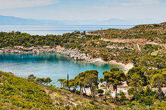 Agia Paraskevi in Spetses, Greece Royalty Free Stock Photos