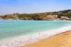 Agia Pelagia plaża Obrazy Stock