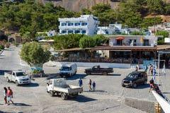 Agia Roumeli wioska Zdjęcie Stock