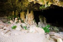 Agia Sofia Cave na Creta, Grécia fotografia de stock
