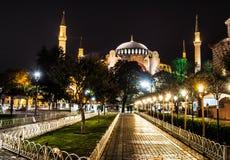 Agia Sofia w Istanbuł, Turcja Obrazy Stock