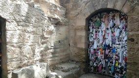 Agia Solomoni教会和地下墓穴 股票录像